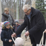 nagrody wręczał Dyrektor ogrodu, dr Józef Skotnicki
